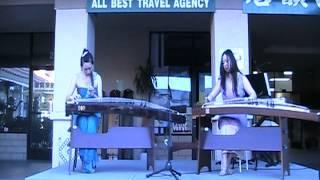 """春江花月夜 - 古筝二重奏 Rita Li Guzheng Duet """"Moonlight over the Spring River"""""""