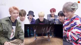 BTS REACTION TO BLACKPINK - DANCE PRACTICE VIDEO 'Forever young' forever over time