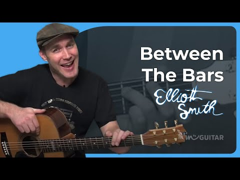 How to play Between The Bars by Elliott Smith (Acoustic Guitar Lesson SB-117)