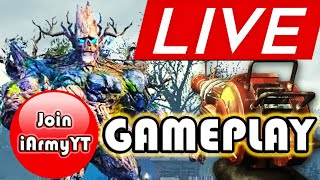 🔴 CALL OF DUTY MOBILE ZOMBIES LIVE | EASTER EGG BOSS JUBOKKO GAMEPLAY | iArmyYT