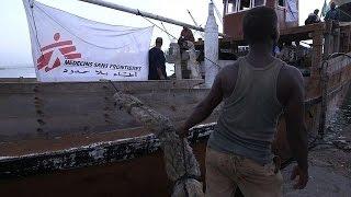 Medical supplies depart Djibouti for Yemen
