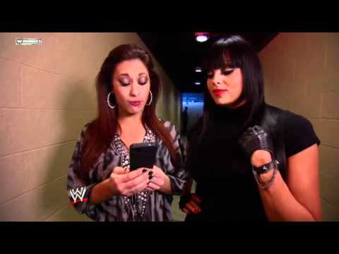 WWE NXT - WWE NXT: Aksana shows Maxine a suspicious email