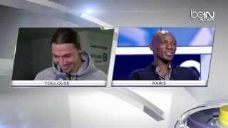 [Must watch] Funny interview Zlatan Ibrahimovic & Camara 24/02/2014 HD