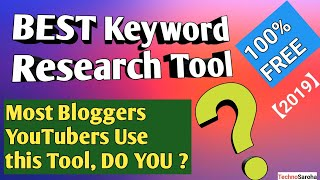 【2019】Free Keyword Research Tool Tutorial - You MUST USE this Best Keyword Finder/Research Tool SEO