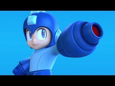 Super Smash Bros  Megaman Trailer - E3 2013