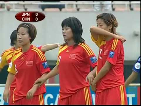 2010.05.30 - Japan vs. China - 2010 AFC Women's Asian Cup 3rd Place Playoff