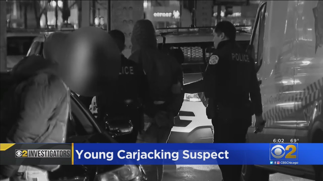Carjacking crisis worsens in Chicago: Latest suspect is an 11-year-old boy who helped beat a 59-year-old man