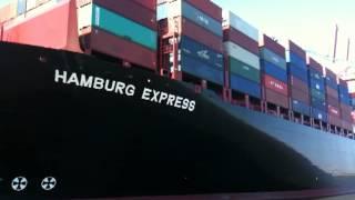 Hapag-Lloyd 13.200 TEU vessel Hamburg Express 1