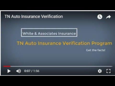 TN Auto Insurance Verification