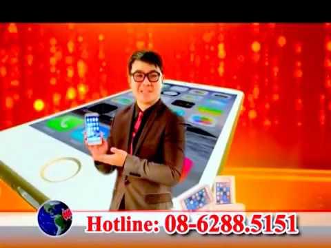 Sự thật về Điện thoại Dopod Ip6 chống nước chống xước quảng cáo truyền hình