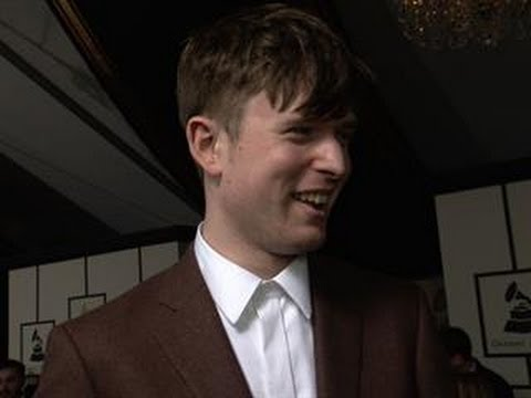 56th Grammy Awards - James Blake Interview