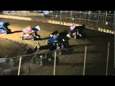 Trail-Way Speedway 358 Sprint Car Highlights 9-30-11