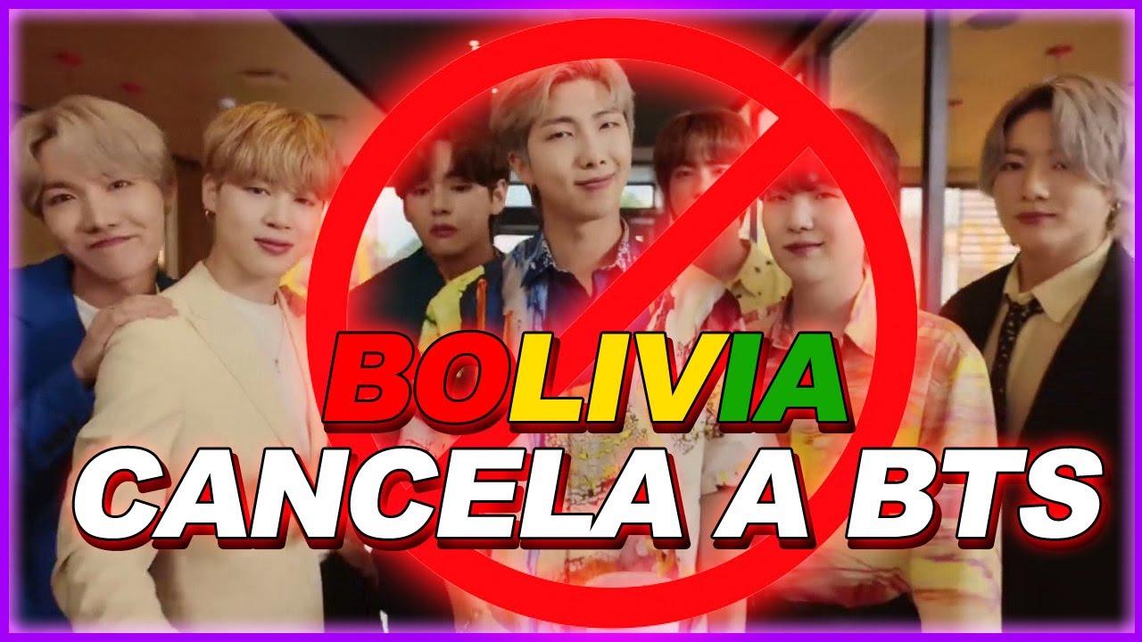 BOLIVIA CANCELA A BTS McDonald's REACCION DE LAS ARMYS