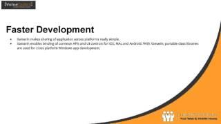 Advantages of Xamarin For Cross Platform Mobile Development