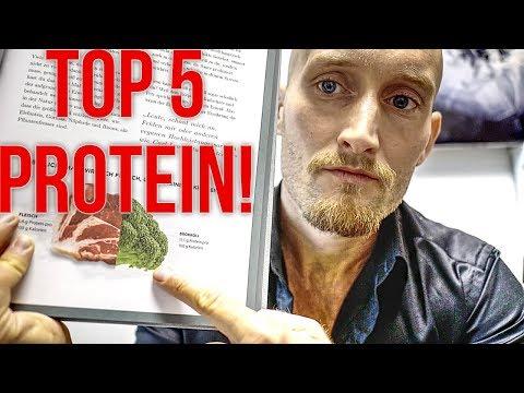 Die 5 Besten Protein Lebensmittel! - Auf pflanzlicher Basis