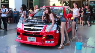 Repeat youtube video # สาวๆเอวเด้ง Sexy Car Wash งาน Truck Only Meeting Midnight Party . .