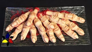 Severed Witches' Fingers – sugar free, gluten free | keto recipes | keto cookies