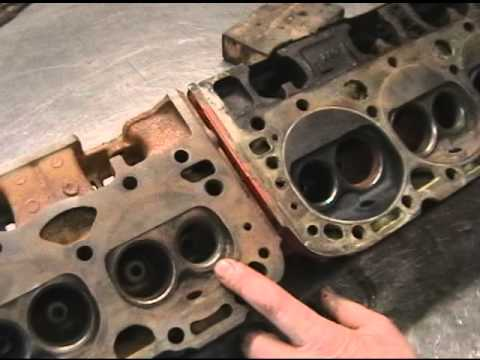 Magnetic Test For Cracks On Chevy Heads At Cylinder Head