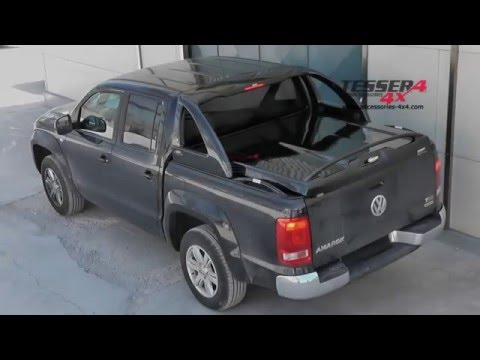 At www.accessories-4x4.com: New VW Amarok off road 4x4 accessories volkswagen cover lid