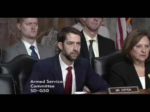 February 9, 2017: Sen. Cotton
