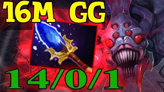 Broodmother AGHANIM 16M GG l Dota 2 7.23E Gameplay