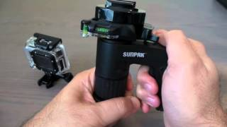 Sunpak Pistol  Grip Ball Head with Quick Release Plate for Tripods & Monopods