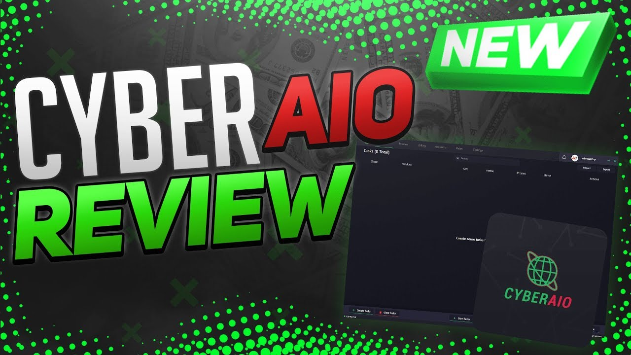 Cyber AIO 4 0 Overview!! (Sneaker Bot Review)