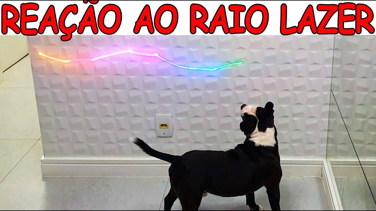 REAGINDO A RAIOS LAZER