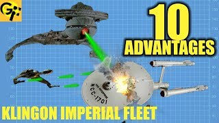 10 Advantages KLINGON IMPERIAL FLEET (Star Trek)