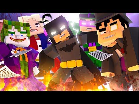 Minecraft   BATMAN VS ALL HIS VILLAINS! (Crazy Craft Madness) #22