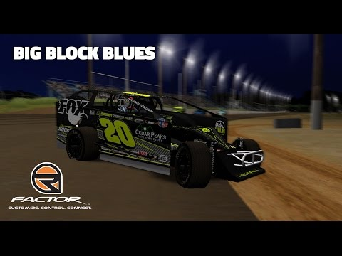 rFactor: Big Block Blues (Big Block Modifieds @ Georgetown)