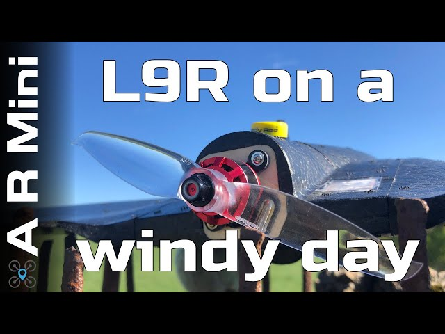 AR Wing mini - L9R on a windy day EP:02