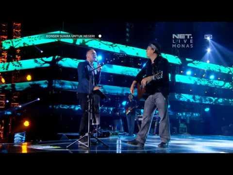 Iwan Fals ft Nidji - Laskar Pelangi - Konser Suara Untuk Negeri Jakarta