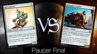 MtG Pauper Flashback Finals - Affinity VS Pain Train