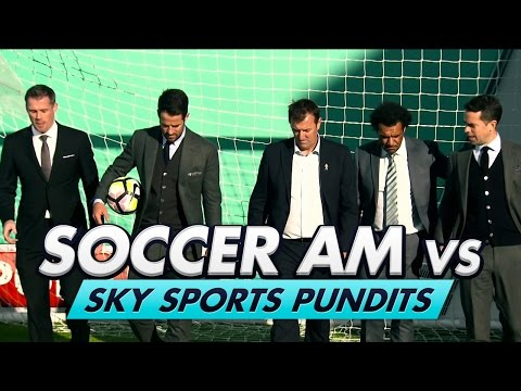 [Top 30 video Royaume Uni] Soccer AM v Sky Pundits | Volley Challenge! w/ Carragher, Redknapp & Le Tissier
