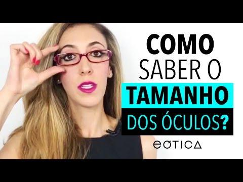 95b77b6a9 Descubra quais são as medidas do seu óculos | eOtica - YouTube