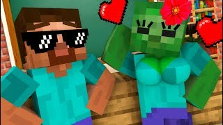 Monster School : EPIC LOVE CURSE CHALLENGE - Minecraft Animation