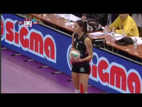Wolleyball-Scandicci W vs Liu Jo Nordmeccanica Modena W-ITALY Coppa Italia A1 Women