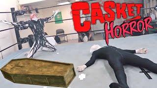 Demon Risks EVERYTHING In Casket Slender Man Halloween Horror Challenge