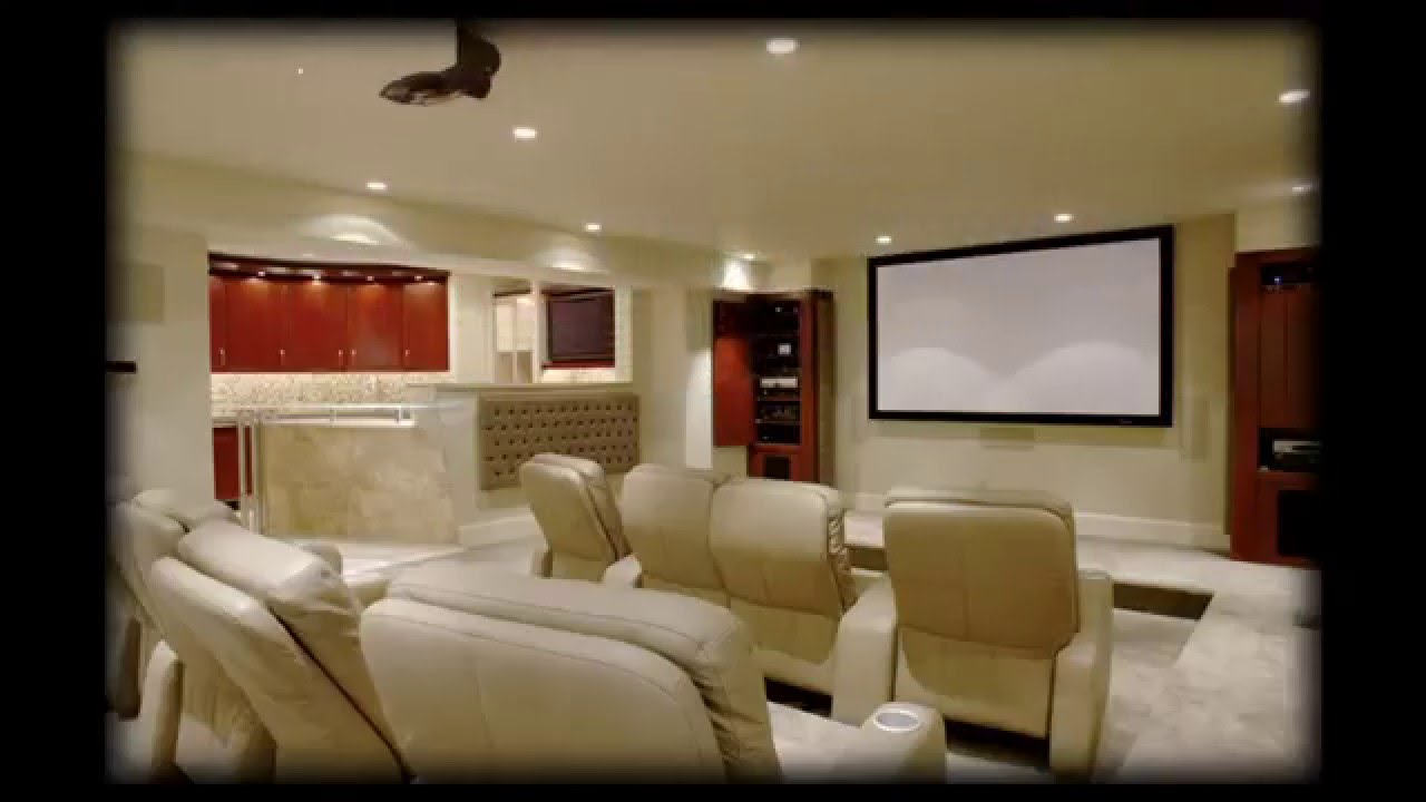 Mini Home theater design ideas YouTube