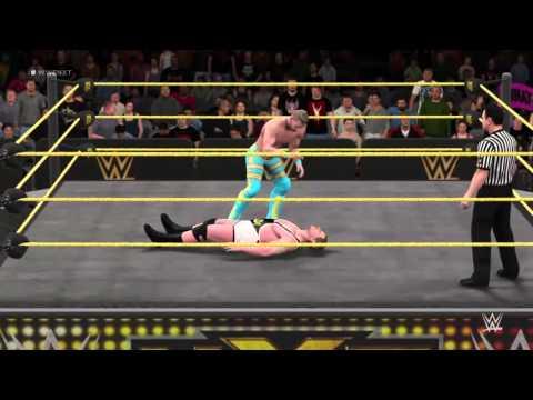 WWE 2K16 nxt rockstar spud v grado