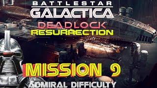 Battlestar Galactica Deadlock Resurrection Mission 9 Forward Contamination