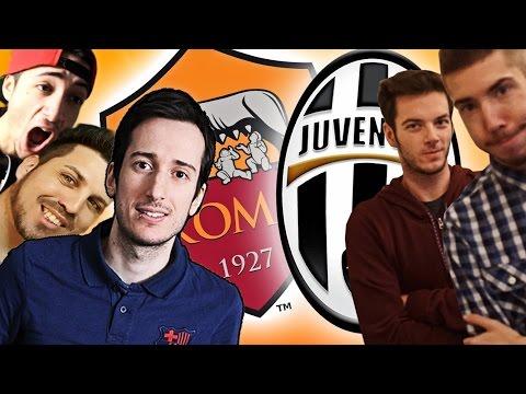JUVENTUS ROMA 1-0 LA REAZIONE DEGLI YOUTUBER!!!!!
