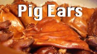 Streetside Pig's Ear In Shanghai