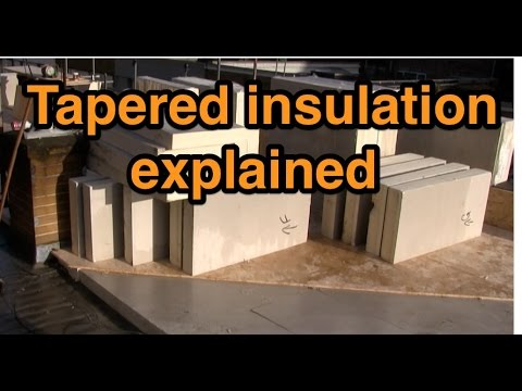 Ib Roof Installation Tapered Insulation Doovi