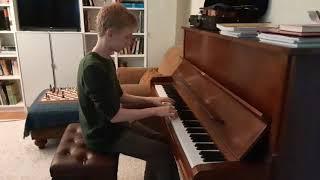Waltz in A minor by Frédéric Chopin, Prelude in D minor by Johann Sebastian Bach