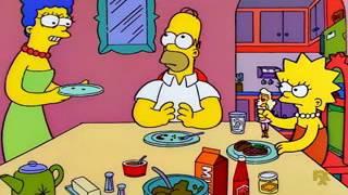 Un gran platon de helado de vainilla - Frases Homero & Cia