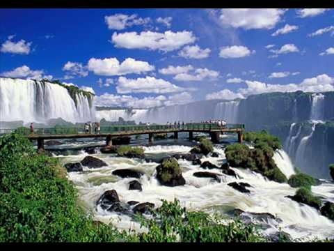Iguazu Falls Desktop Wallpaper Brasil Paisagens Youtube