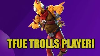 TFUE trolls with the new Chicken skin - Fortnite Best Moments and Highlights #7
