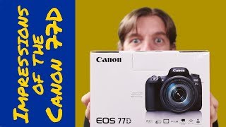 Hands on: Canon 77D first impressions and review